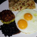 Breakffast colazione gallo pinto